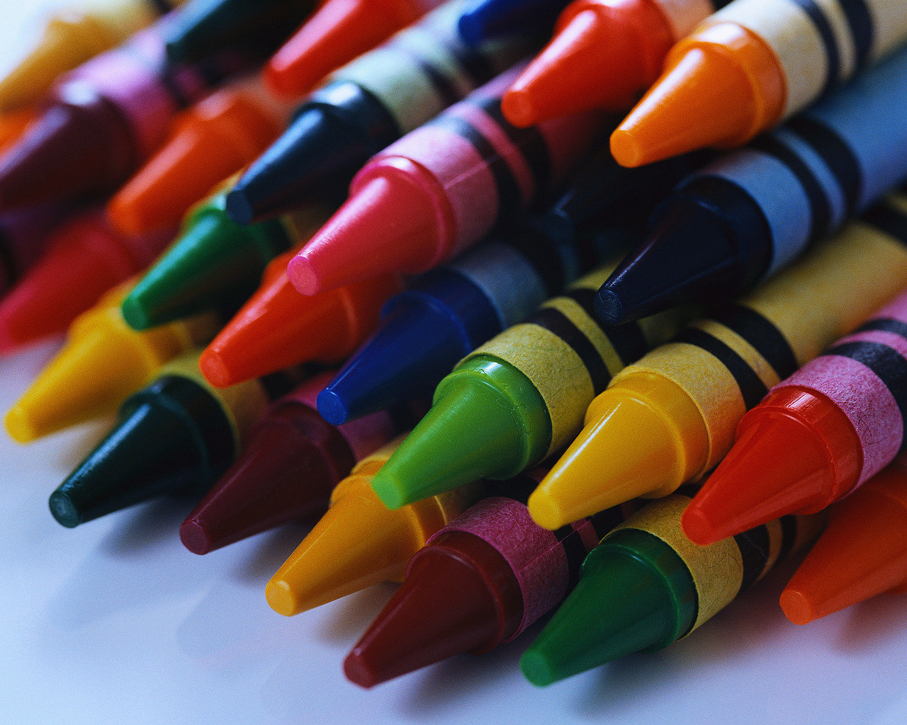 Colorful Crayons